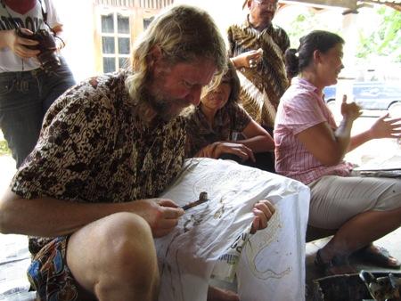 Bule mencanting batik