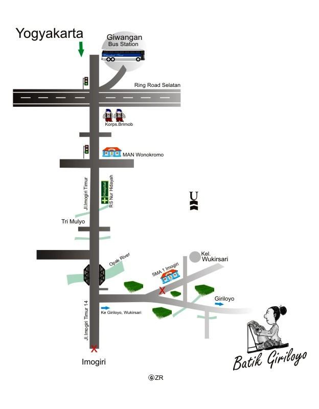 Peta ke Giriloyo